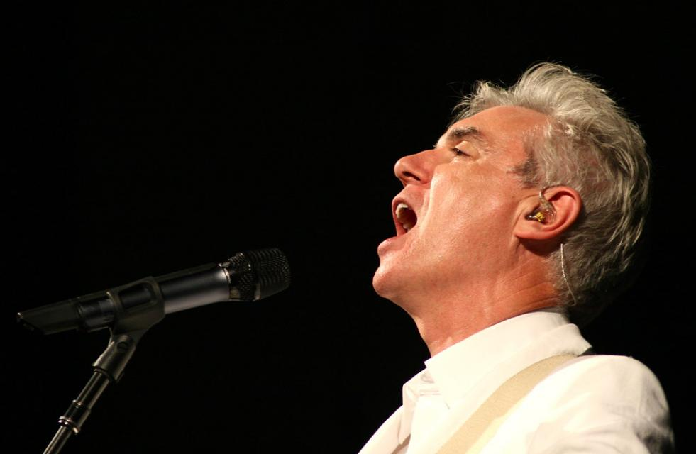 """David Byrne en Barcelona"" by alterna2 is licensed under CC BY 2.0"