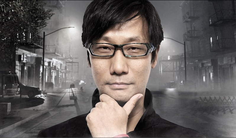 Kojima head shot layered on a screen shot from Metal Gear Spolid