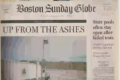 "Boston Globe cover ""Up from the Ashes"""