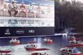 Mock up image of Paris's Le Cinéma sur l'Eau Event on 18 July 2020