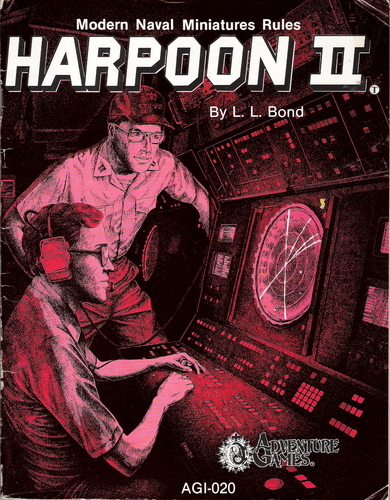 Cover of Harpoon, second edition by Larry Bond